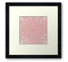 floral blur Framed Print
