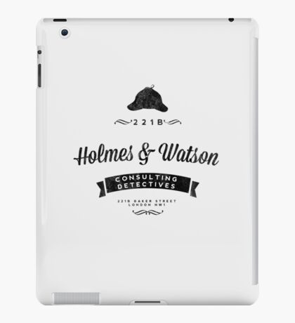 Holmes and Watson Consulting iPad Case/Skin