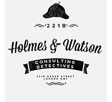 Holmes and Watson Consulting Photographic Print
