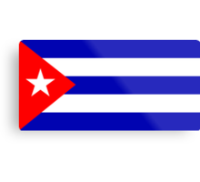 Cuba, national id Metal Print