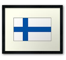 Finland, national id Framed Print