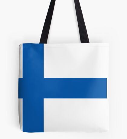 Finland, national id Tote Bag
