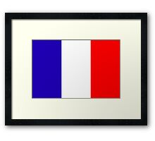 France, national id Framed Print
