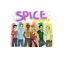 SPICE WOLVES Photographic Print