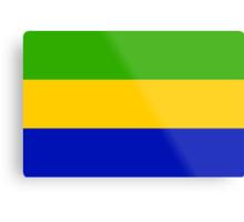 Gabon, national id Metal Print