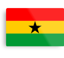 Ghana, national id Metal Print