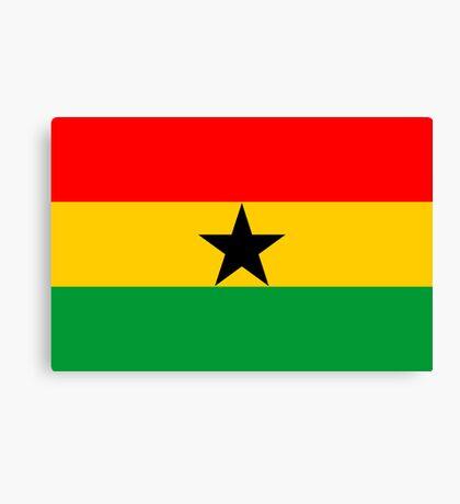 Ghana, national id Canvas Print