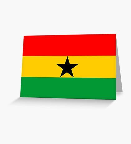 Ghana, national id Greeting Card