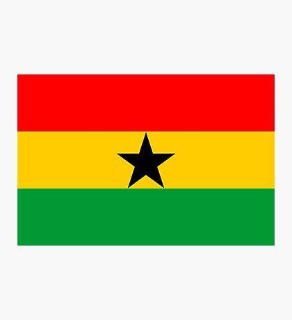 Ghana, national id Photographic Print