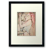 The Taste of my Love Framed Print