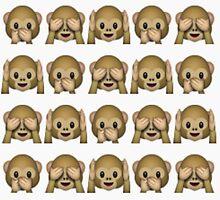 Monkey emoji by zalfienotonfire