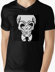 The Silence 2 Mens V-Neck T-Shirt