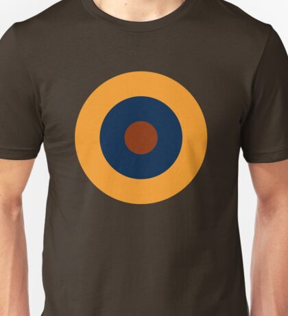 Royal Air Force - Historical Roundel Type B.1 1939 - 1942 Unisex T-Shirt
