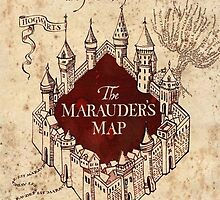 Harry Potter The Marauders Map by kasurcase