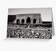 Lime Kiln - Lindisfarne Greeting Card