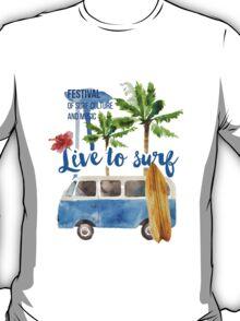 surf placard T-Shirt