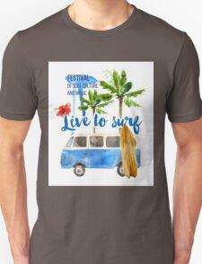 surf placard Unisex T-Shirt