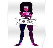 Garnet - Never Alone Poster