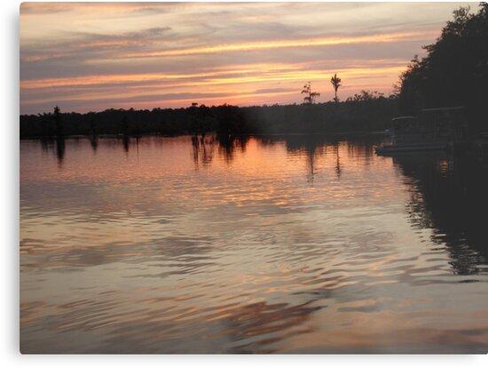 Sunset July 17, 2009 by May Lattanzio