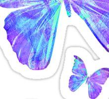Purple Butterflies by Jan Marvin Sticker