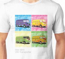 VW Pop Art No 1 Unisex T-Shirt