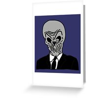 The Silence Greeting Card