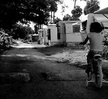 Early Morning ride : Trailer Park America Series  by Isa Rodriguez