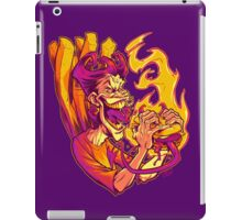 EVIL BOYS EATING EVIL HAMBURGERS iPad Case/Skin