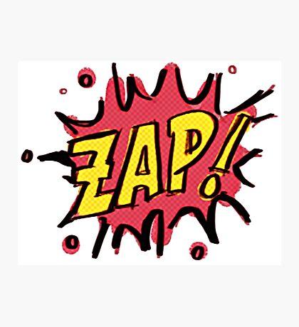 Zap!  Photographic Print