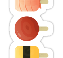 The Creamsicles of Nigiri Sticker