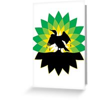 Bird Petroleum Greeting Card