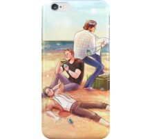 Sand between our Toes, Sammy iPhone Case/Skin