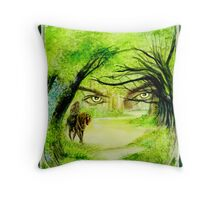 Lord of The Glades cover art Throw Pillow