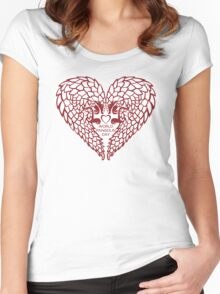 Love Pangolin - World Pangolin Day Women's Fitted Scoop T-Shirt