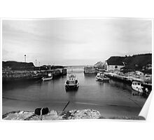 Ballintoy Harbour Poster