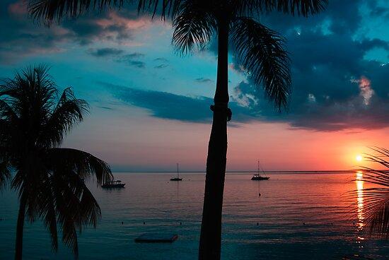 Negril sunset #3 by tgmurphy