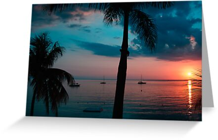 Negril sunset #3 by tgmurphy