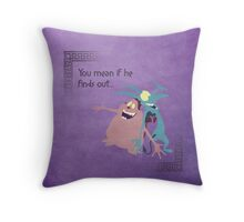 Hercules inspired design (Pain & Panic). Throw Pillow