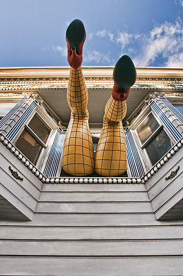 Haight Street by Colleen Farrell