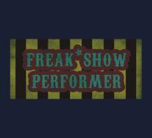Freak Show Performer One Piece - Short Sleeve