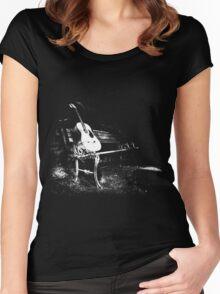Bench Dark Women's Fitted Scoop T-Shirt
