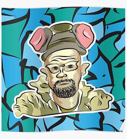 Heisenberg Making Ice Poster