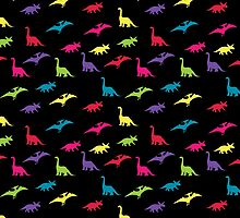 Dinosaurs Pattern by Lexie Aguilera