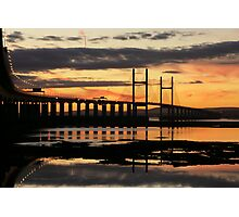 Sunset Crossing Photographic Print