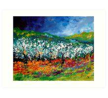 Apple trees 459070 Art Print