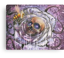 In death's garden Canvas Print