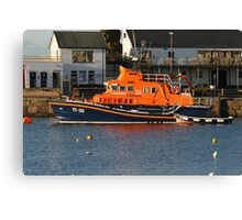 Portrush Lifeboat Canvas Print
