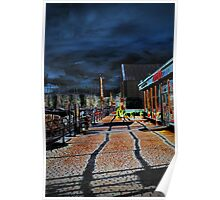 Bowness Walkway Poster