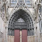 Doors of Rouen - Irina Gallagher by Irina Gallagher