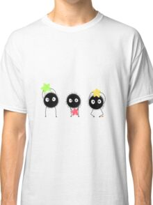 spirited away -- soot sprites and their stars Classic T-Shirt